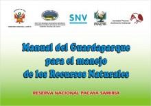 Manual del guardaparque para el manejo de los recursos naturales