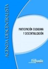 Participación ciudadana y descentralización