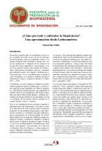 Documentos de Investigación No 1, Iniciativa de Biopiratería