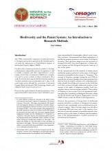 Documentos de Investigación No 6, Iniciativa de Biopiratería