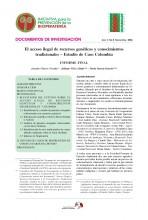 Documentos de Investigación No 8, Iniciativa de Biopiratería