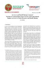 Documentos de Investigación No 12, Iniciativa de Biopiratería