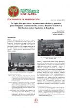 Documentos de Investigación No 13, Iniciativa de Biopiratería