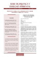 Serie de Política y Derecho Ambiental No 15, SPDA