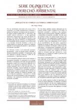 Serie de Política y Derecho Ambiental No 10, SPDA