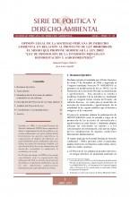 Serie de Política y Derecho Ambiental No 18, SPDA