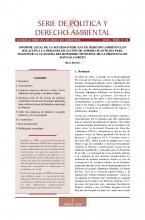 Serie de Política y Derecho Ambiental No 20, SPDA