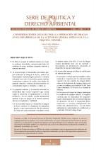 Serie de Política y Derecho Ambiental No 21, SPDA