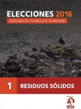 Elecciones 2016: Análisis de planes de gobierno - Residuos sólidos, N° 1
