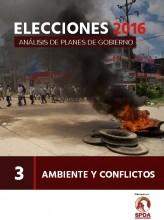 Elecciones 2016: Análisis de planes de gobierno - Ambiente y conflictos, N° 3