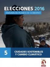 Elecciones 2016: Análisis de planes de gobierno - Ciudades sostenibles y cambio climático, N° 5