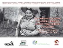 Los cultivos de la sierra y el cambio climático andino: vulnerabilidad y fortalezas. Siete casos de la sierra centro y sur del Perú