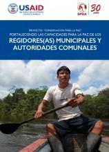 Fortaleciendo las capacidades para la paz de los regidores(as) municipales y autoridades comunales
