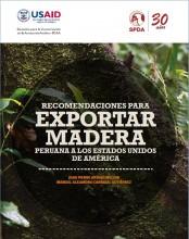 Recomendaciones para exportar madera peruana a los Estados Unidos de América