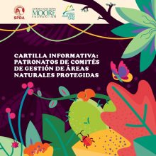 Cartilla informativa: Patronatos de Comités de Gestión de Áreas Nnaturales protegidas