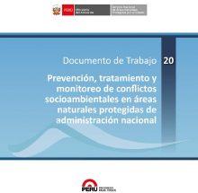 Prevención, tratamiento y monitoreo de conflictos socioambientales en áreas naturales protegidas de administración nacional