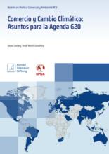 Comercio y cambio climático: asuntos para la agenda G20