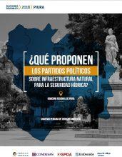 ¿Qué proponen los partidos políticos sobre infraestructura natural para la seguridad hídrica? Gobierno Regional de Piura