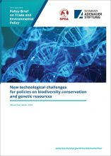 New technological challenges for policies on biodiversity conservation and genetic resources