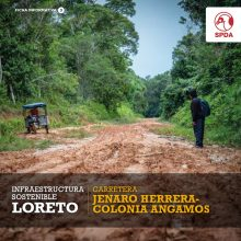 Infraestructura Sostenible Loreto: Carretera Jenaro Herrera-Colonia Angamos