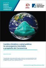 Cambio climático y salud pública: la convergencia inevitable, a propósito del Coronavirus