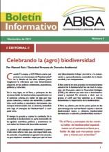 Boletín Informativo ABISA: Agrobiodiversidad y soberanía alimentaria, No 3