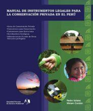 Manual de Instrumentos legales para la Conservación Privada